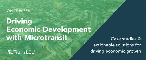 Transit and Economic Development