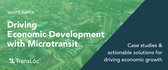 Featured Resource - Driving Economic Development with Microtransit
