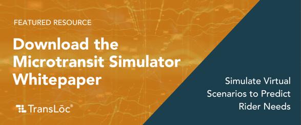 Featured Resource - Microtransit Simulator White Paper