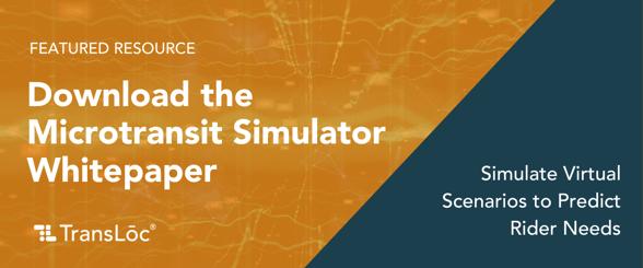 Microtransit Simulator White Paper