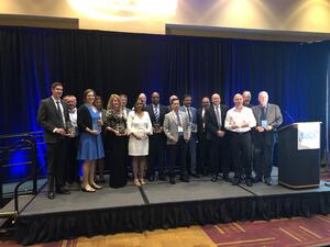 Innovative Solutions Award winners at the 2019 BusCon