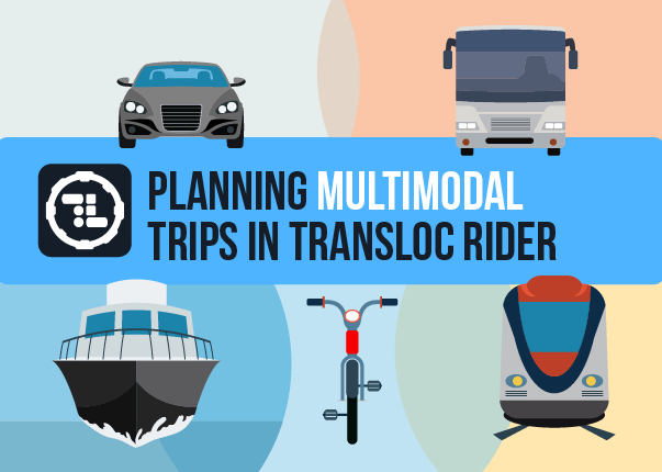 MultiModal Transportation Rider App Explained
